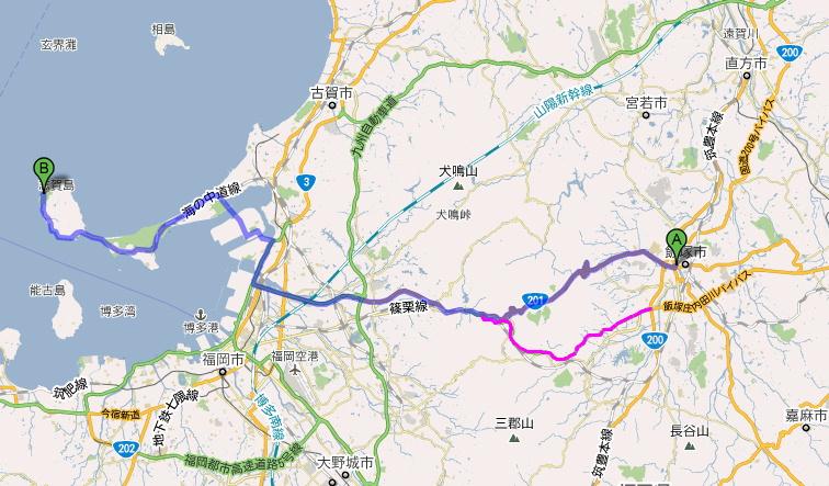 飯塚市から志賀島へ.JPG