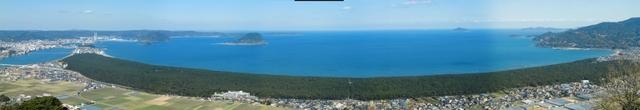 鏡山から見た虹ノ松原.jpg